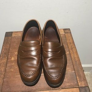 Allen Edmonds Brown Leather Penny Loafers